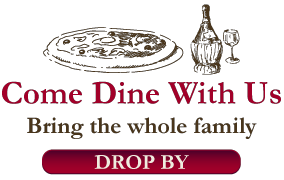 Come Dine With Us | Bring the whole family | Drop By
